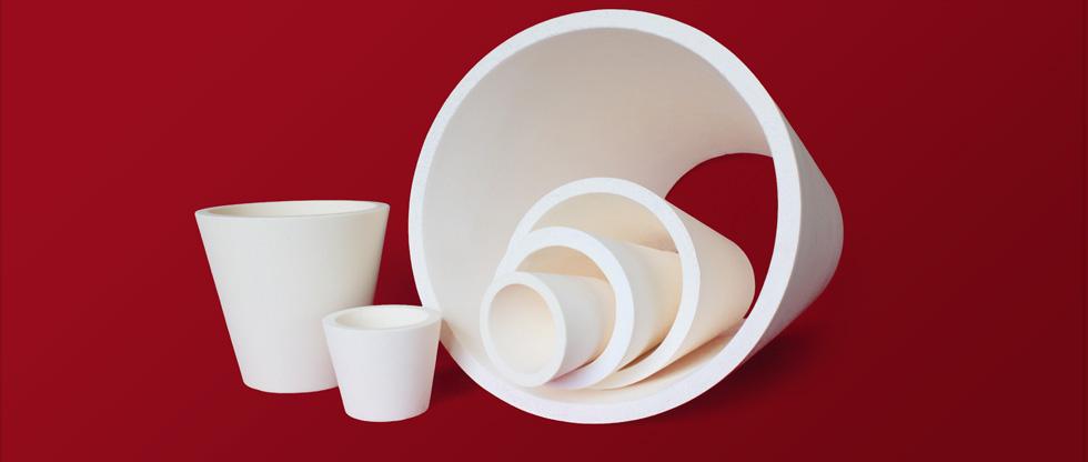 High purity alumina reducers
