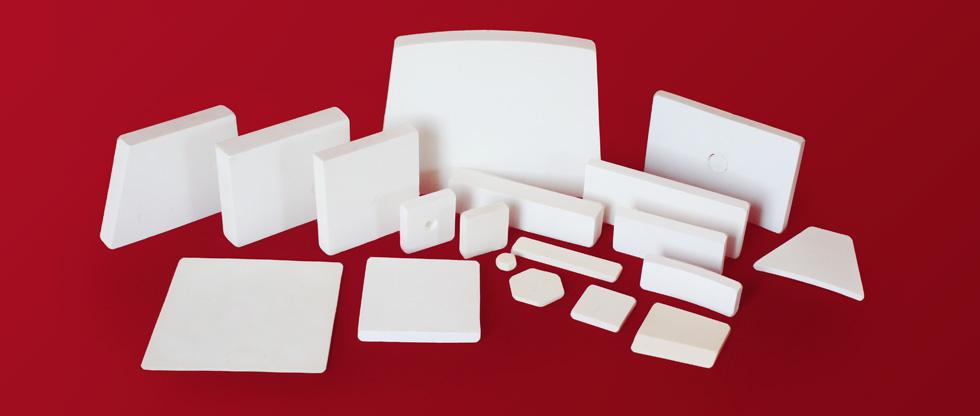 High purity alumina tiles