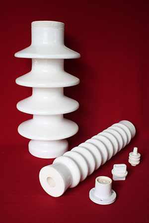 Alumina insulator for electrical applications