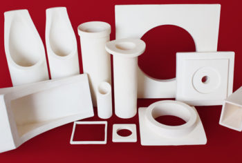 High purity alumina cyclone parts monolithic