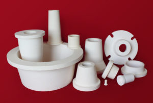Custom Alumina cyclone components
