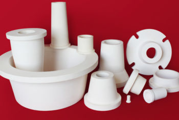 High purity alumina distributor spigots