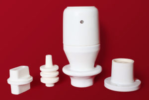Alumina electrical insulators