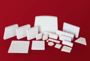 Standard alumina wear tiles